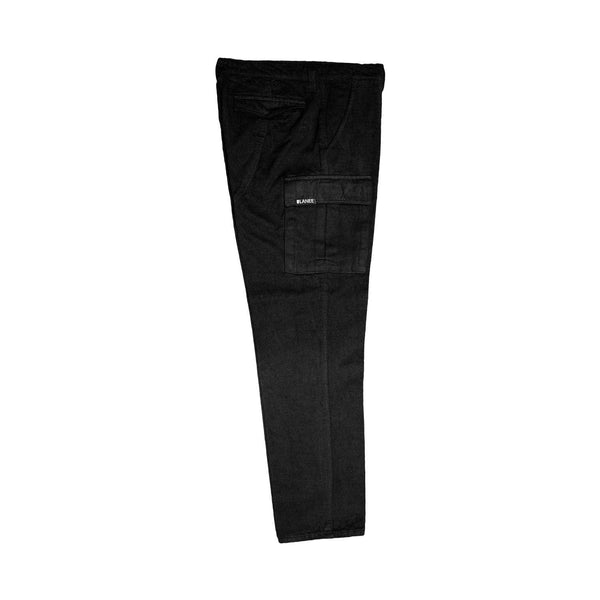 Lanee Clothing Streetwear BLACK CARGO PANTS 19
