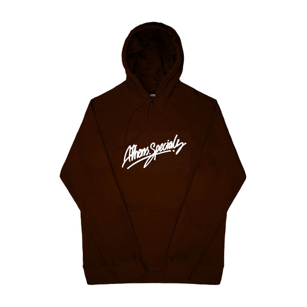 SWEAT - ATH.SPECIALS BROWN HOODIE 19