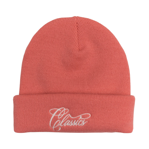 Lanee Clothing Streetwear PINK CLASSICS BEANIE