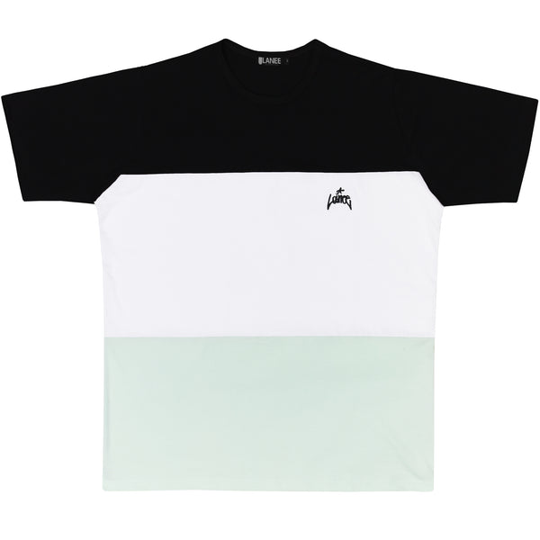 Lanee Clothing Streetwear BLACK/WHITE/MINT TEE