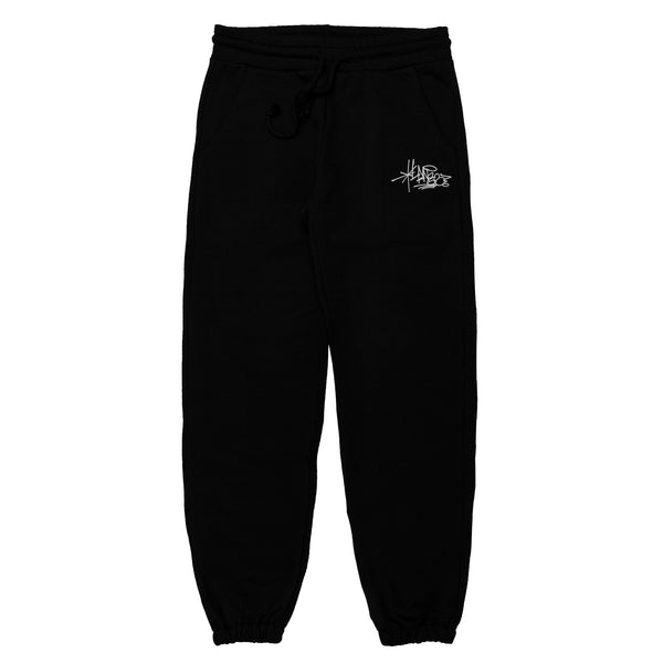Lanee Clothing Streetwear BLACK SWEATPANTS 21