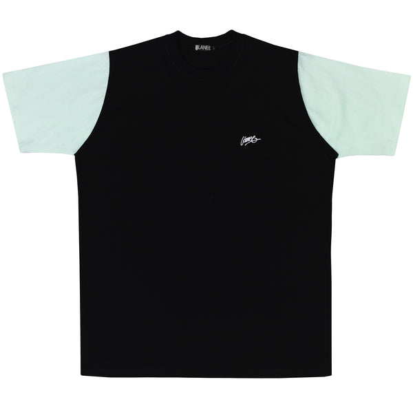 Lanee Clothing Streetwear BLACK/MINT TEE