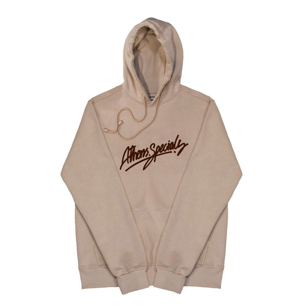SWEAT - ATH.SPECIALS BEIGE/BROWN HOODIE 19