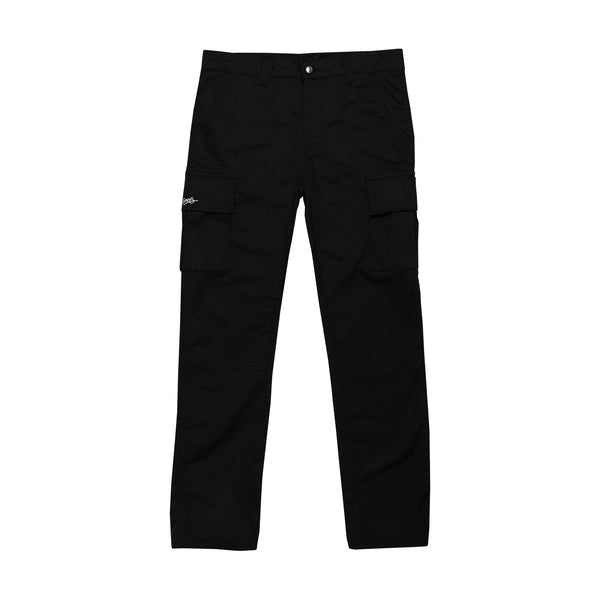 Lanee Clothing Streetwear BLACK CARGO PANTS 21