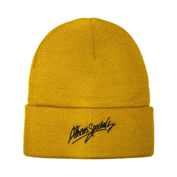 Headwear - ATH.SPECIALS YELLOW BEANIE