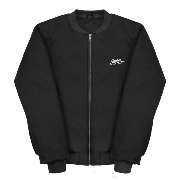 Jackets - BLACK BOMBER JACKET
