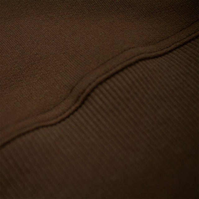 Lanee Clothing Streetwear BROWN BLANK CREWNECK 19