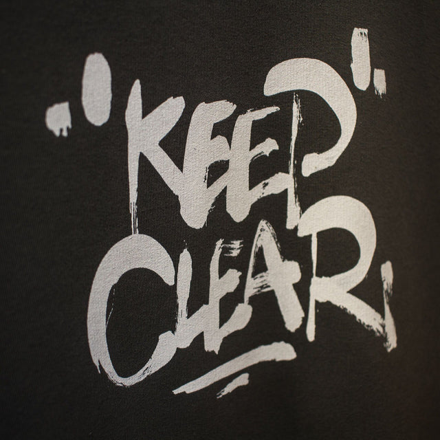 Lanee Clothing Streetwear D.GREY KEEP CLEAR CREWNECK 19