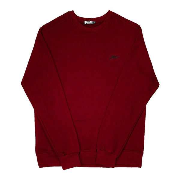 SWEAT - MAROON BLANK CREWNECK 19