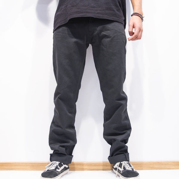 Pants - 5-POCKET BLACK PANTS