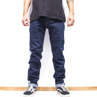 Pants - 5-POCKET DARK DENIM PANTS