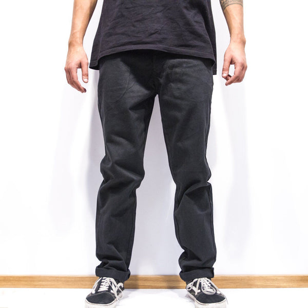 Lanee Clothing Streetwear BLACK PANTS LOOSE-FIT