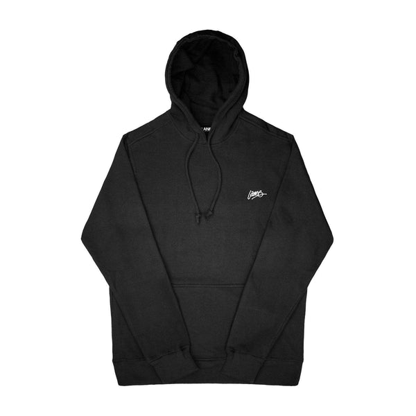 Lanee Clothing Streetwear DARK GREY BLANK HOODIE 19