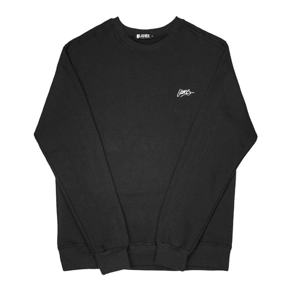 Lanee Clothing Streetwear DARK GREY BLANK CREWNECK 19