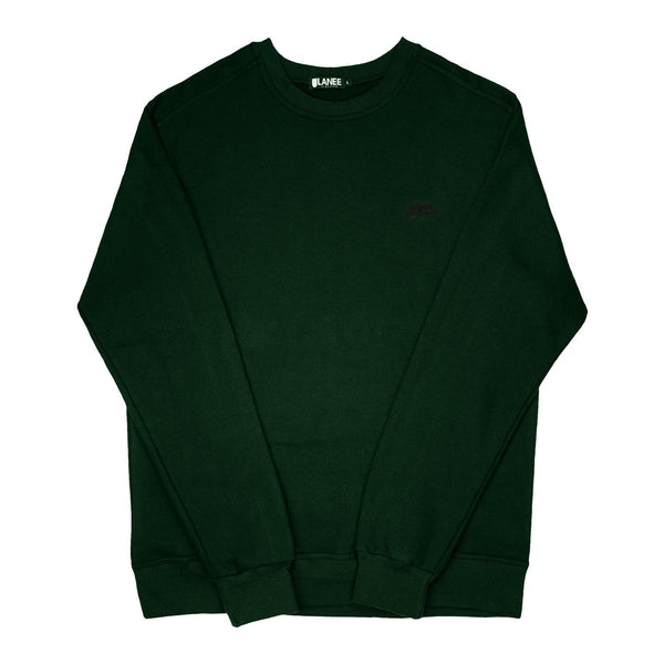 SWEAT - DARK GREEN BLANK CREWNECK 19