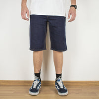 Shorts - 5-POCKET DARK DENIM SHORTS