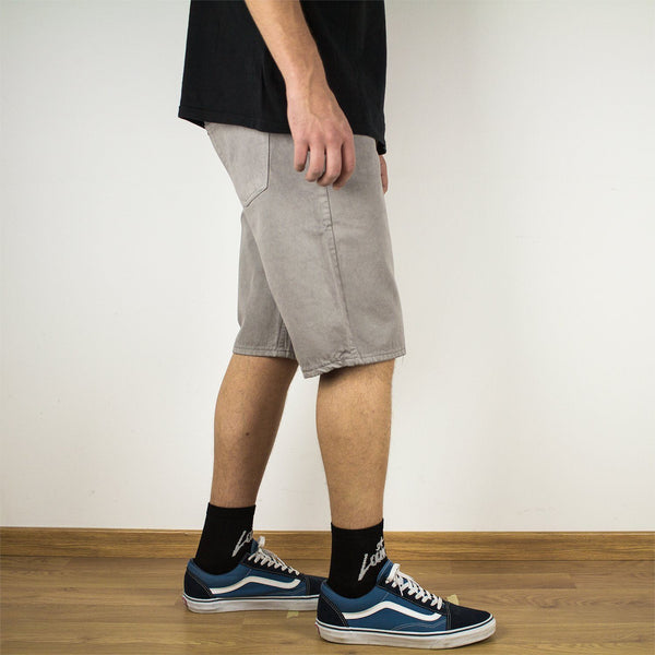 Shorts - 5-POCKET GREY SHORTS