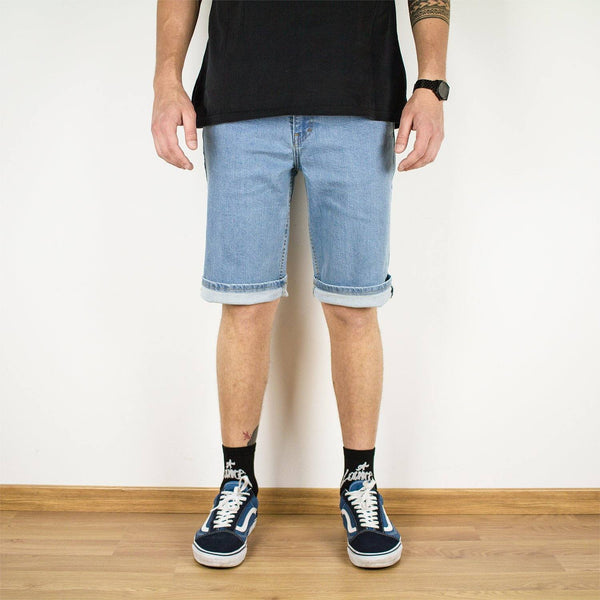 Shorts - 5-POCKET LIGHT DENIM SHORTS