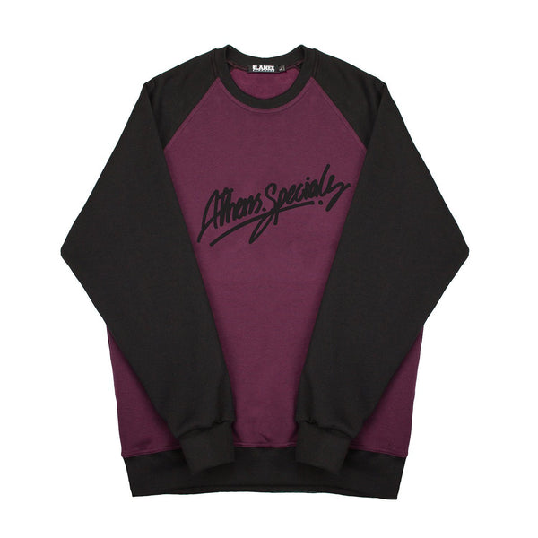 SWEAT - ATH.SPECIALS CRIMSON-BLK CREWNECK