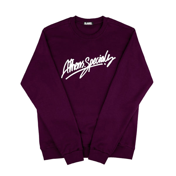 SWEAT - ATH.SPECIALS CRIMSON CREWNECK