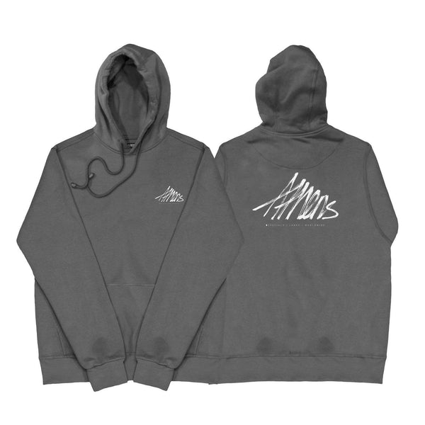 SWEAT - ATHENS DARK GREY HOODIE