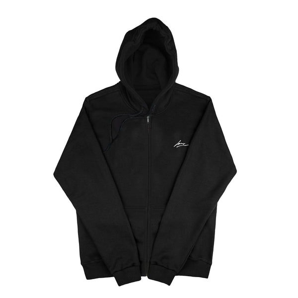 SWEAT - BLACK BLANK JACKET