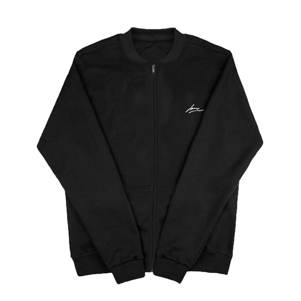 SWEAT - BLACK CREWNECK JACKET