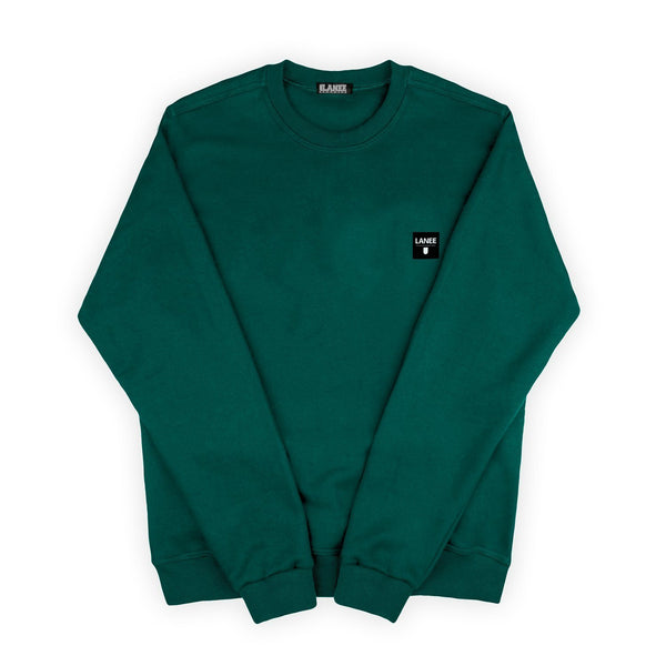 SWEAT - DARK GREEN BLANK CREWNECK
