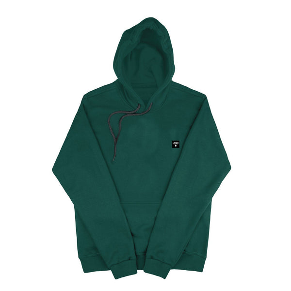SWEAT - DARK GREEN BLANK HOODIE