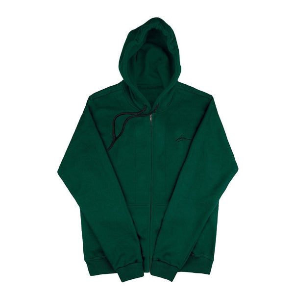 SWEAT - DARK GREEN BLANK JACKET