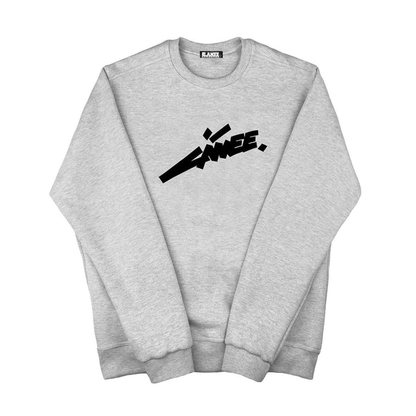 SWEAT - FUTURE GREY CREWNECK