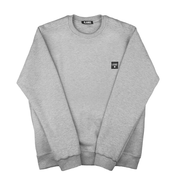 SWEAT - GREY BLANK CREWNECK 16