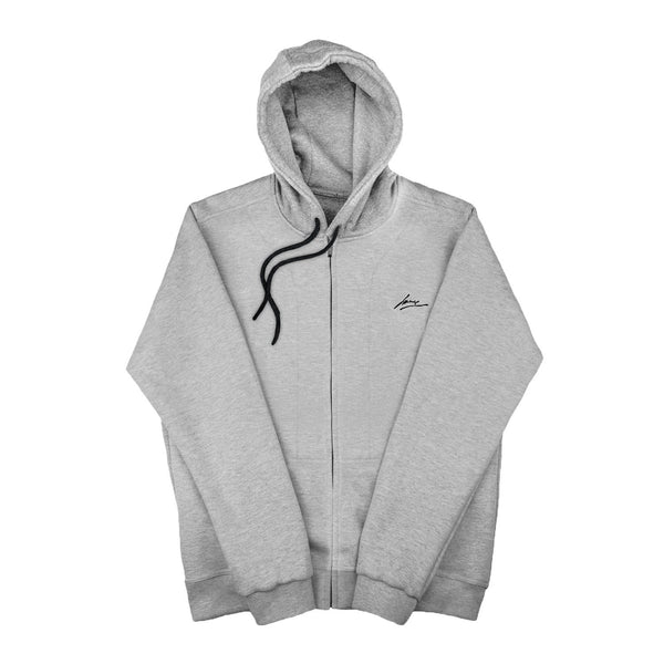 SWEAT - GREY BLANK JACKET