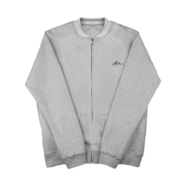 SWEAT - GREY CREWNECK JACKET