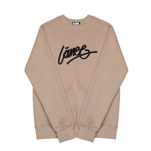 SWEAT - LÀNEE BEIGE CREWNECK