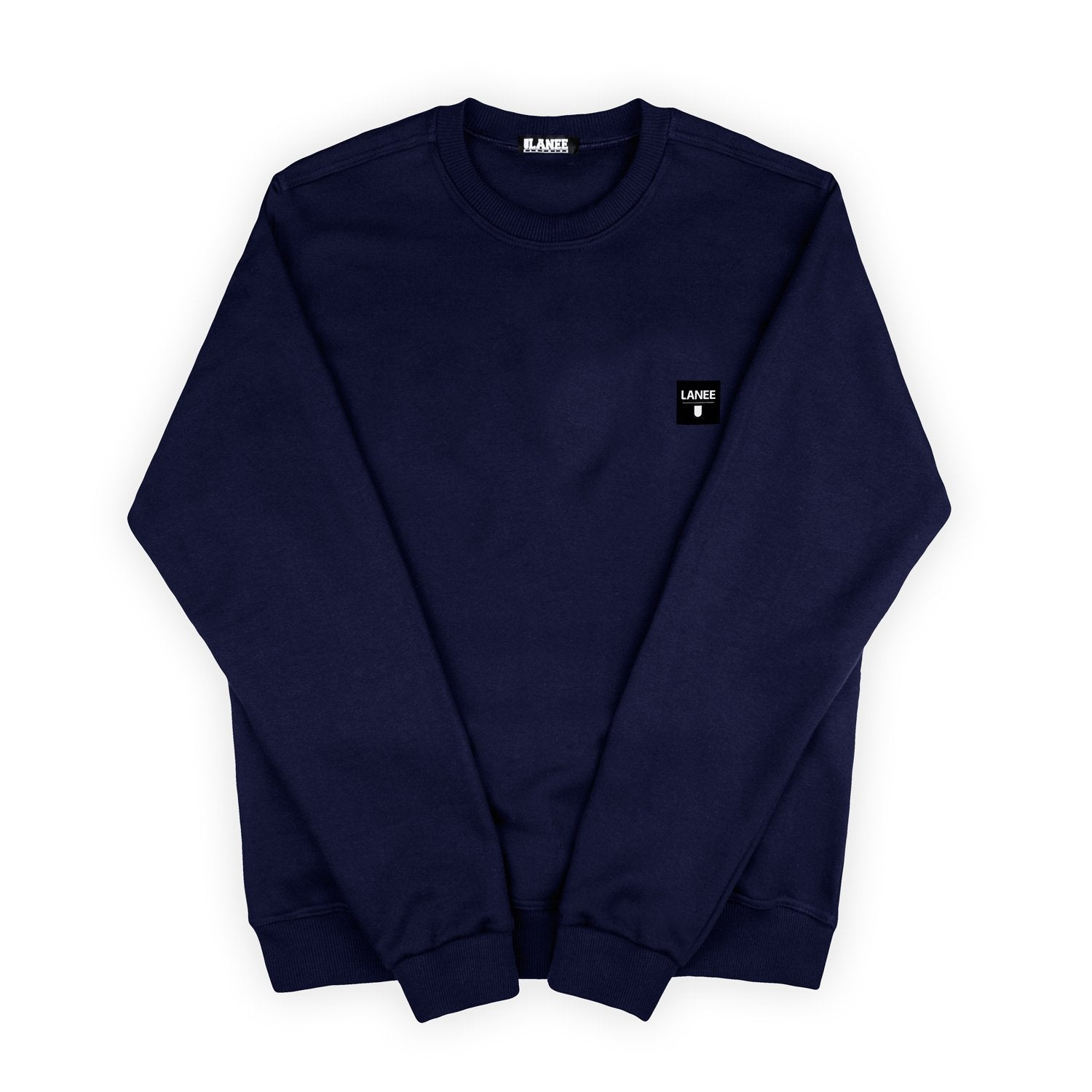 SWEAT - NAVY BLUE BLANK CREWNECK