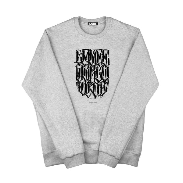 SWEAT - QB WW GRAY CREWNECK
