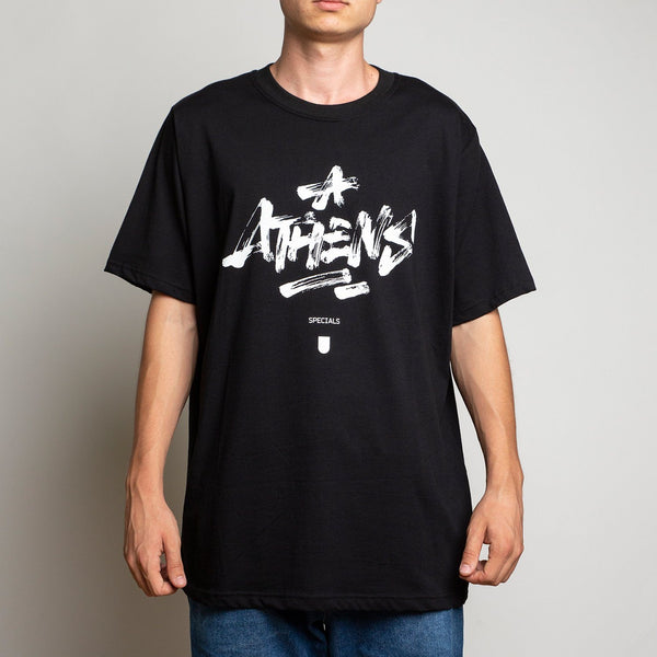 T-SHIRT - ATHENS BLACK TEE