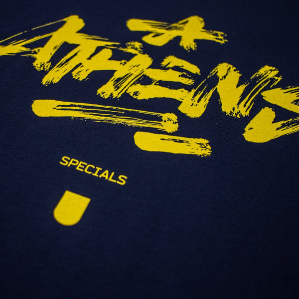 T-SHIRT - ATHENS NAVY BLUE TEE