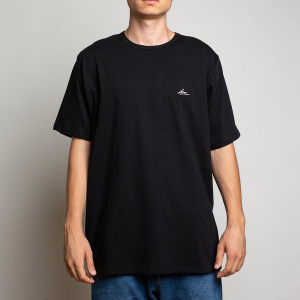T-SHIRT - LANEE BLACK TEE