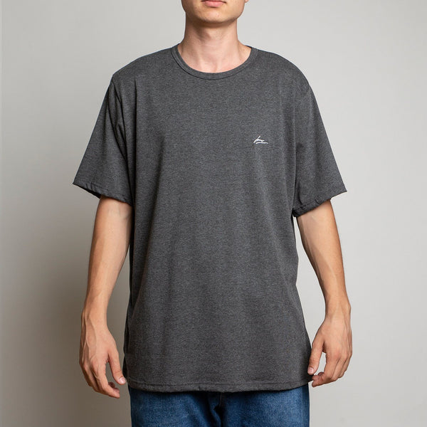 T-SHIRT - LANEE DARK GREY TEE