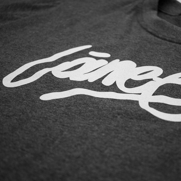 T-SHIRT - LÀNEE DARK GREY TEE