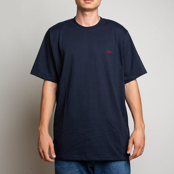 T-SHIRT - LANEE NAVY BLUE TEE