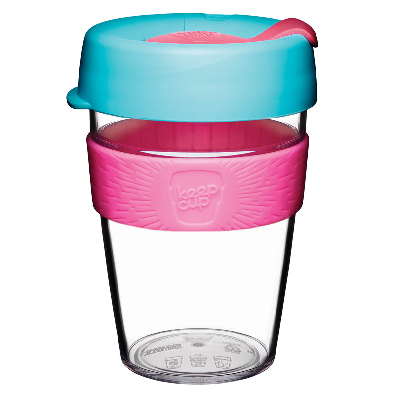 Clear reusable mug - Size M