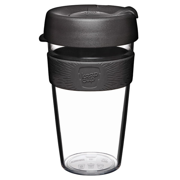 Clear reusable mug - Size L