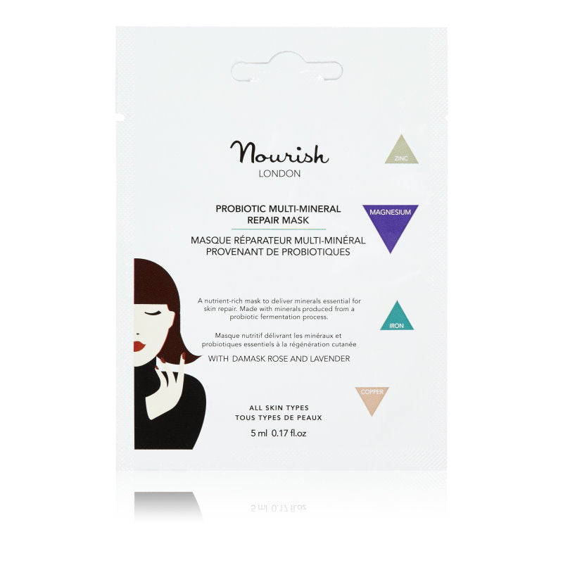 Probiotic multi-mineral repair mask sachet