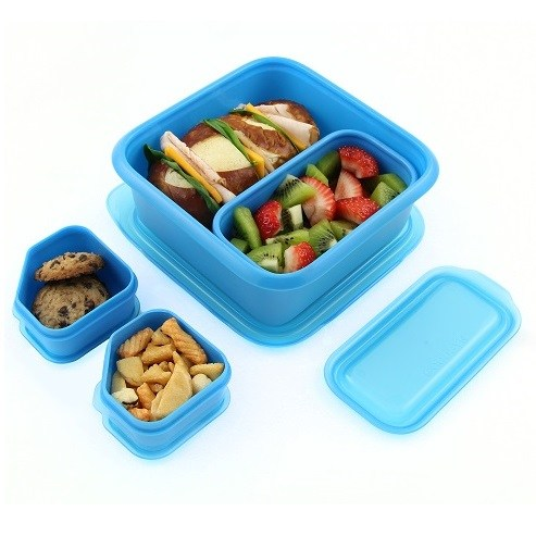 Portions on-the-go lunch box