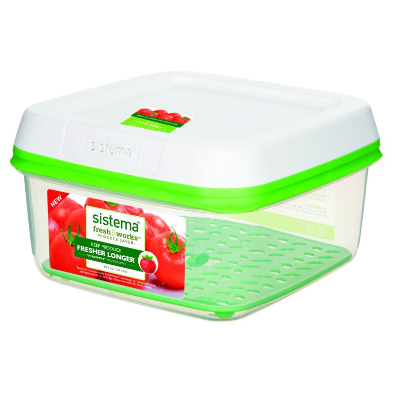 FreshWorks produce container large square