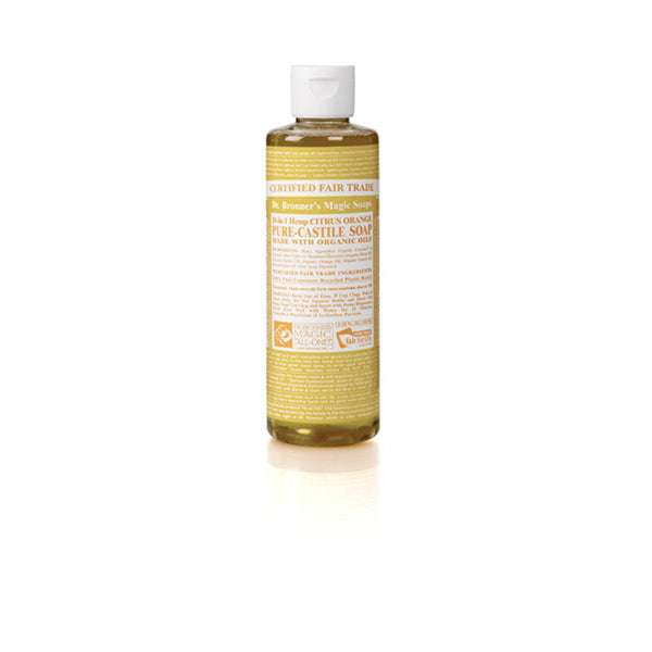 Citrus & orange liquid soap