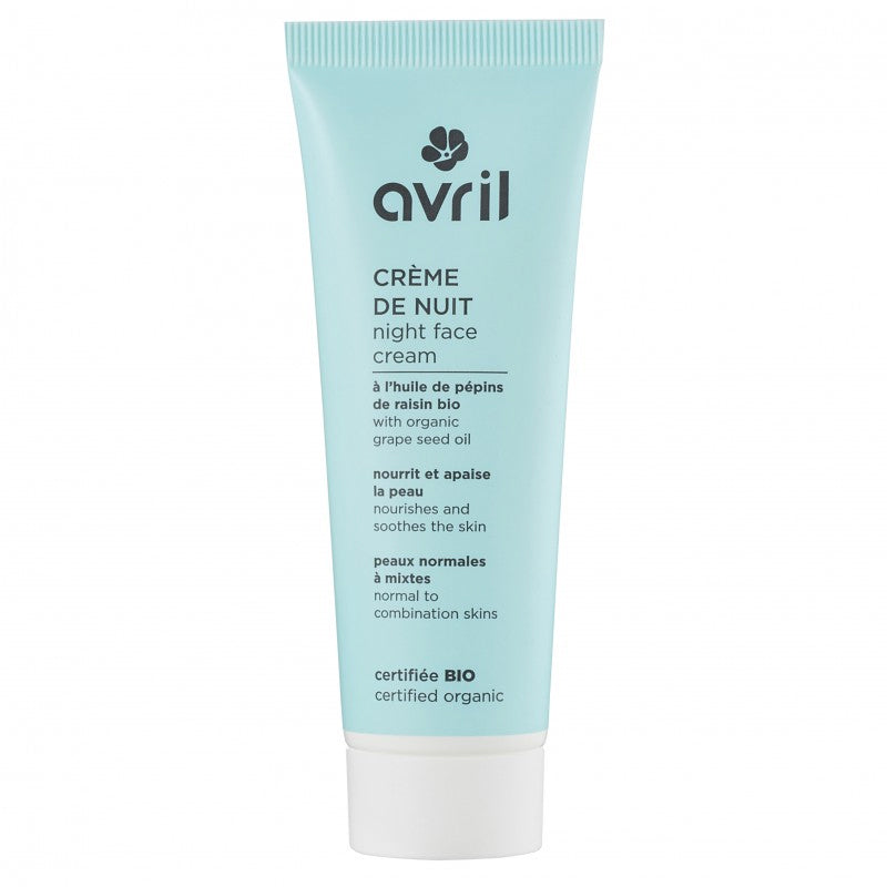 Night cream for normal to combination skin